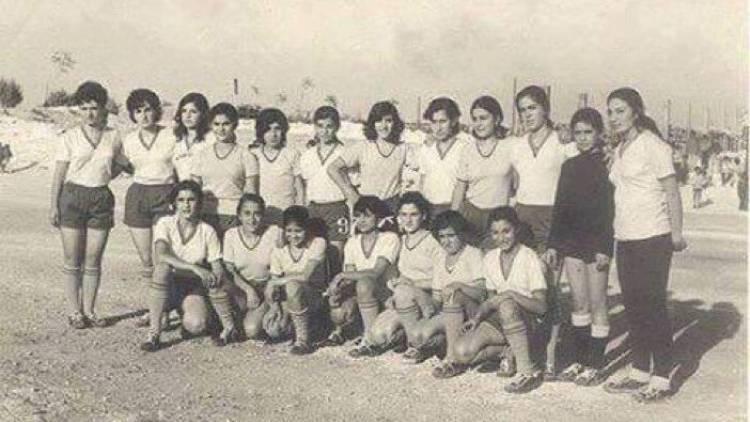 أول فريق كرة قدم نسائي في الشرق الأوسط كان في حلب