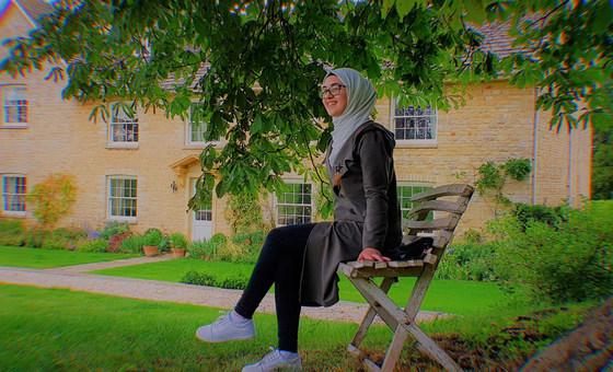 أمينة أبو كرش (16 عاماً)