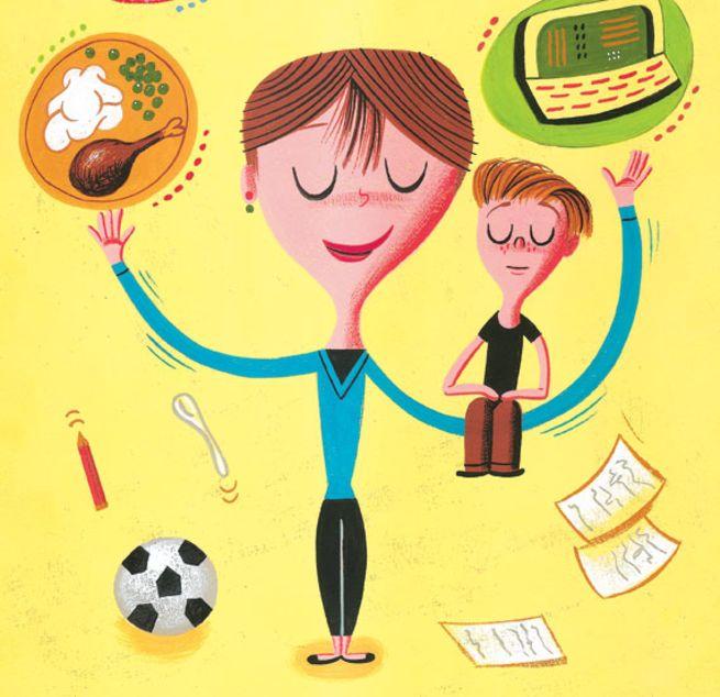 Single Mom/ Illustration By Chris Pyle