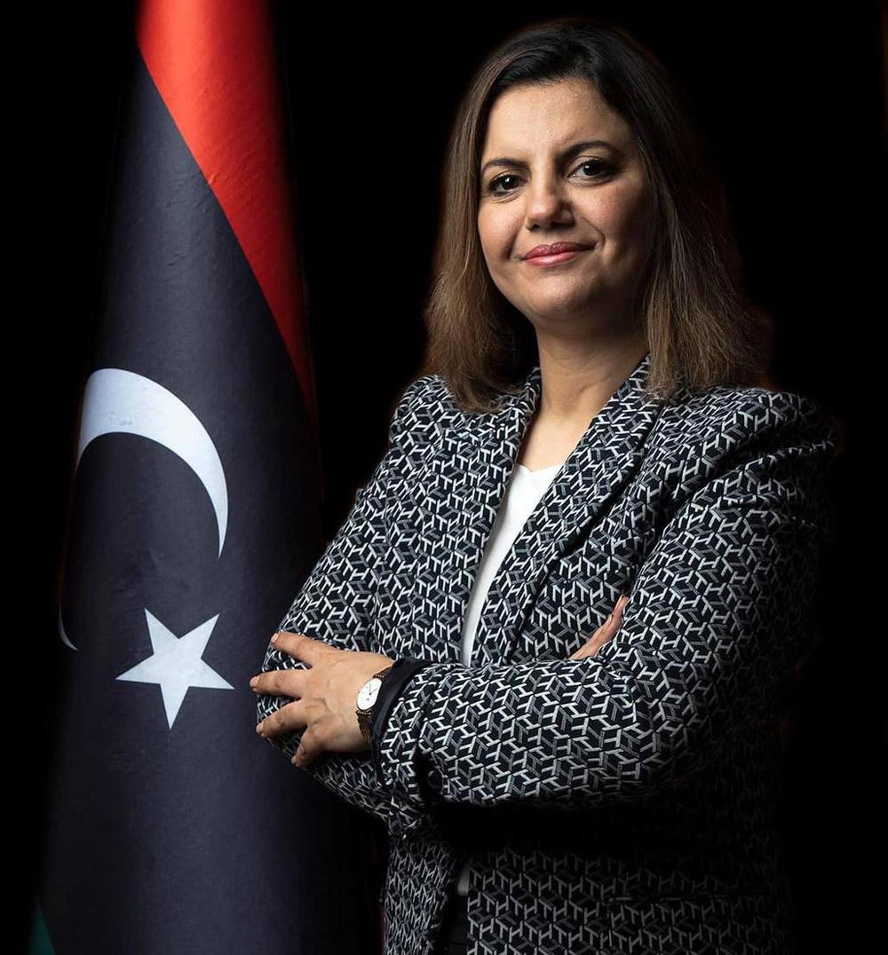 نجلاء المنقوش أول وزيرة للخارجية في تاريخ ليبيا