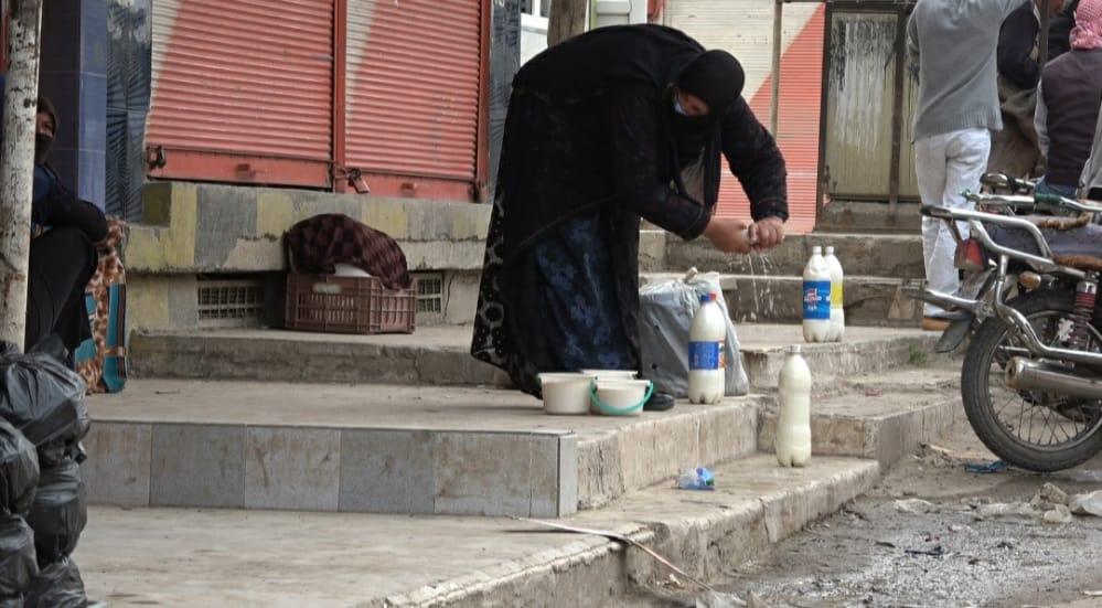 عمل المرأة الريفية في شمال وشرق سوريا