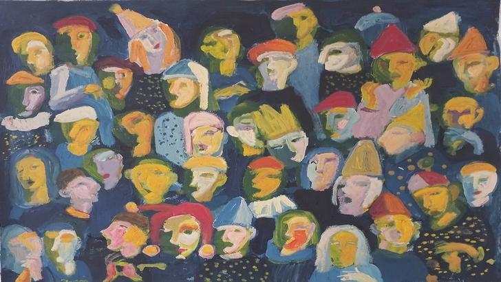 اللوحة: جيلان صفدي