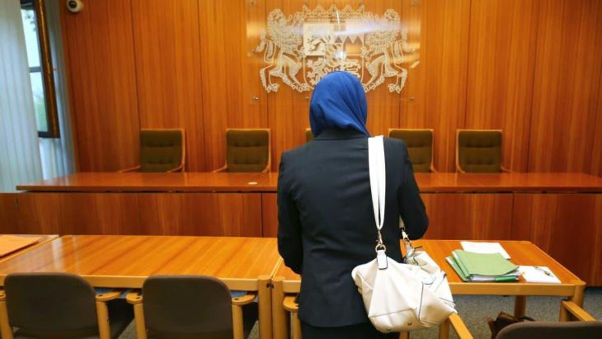 مسلمة محجبة في قاعة محكمة ألمانية/مصدر الصورة: قنطرة