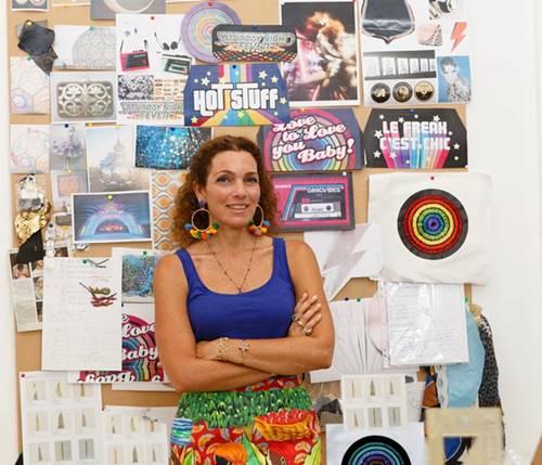 سارة بيضون، صاحبة شركة أزياء ذات تأثير اجتماعي في لبنان